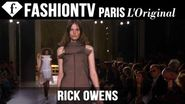 Rick Owens Spring/Summer 2015 | Paris Fashion Week PFW | FashionTV
