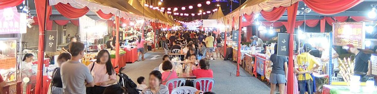 Headline for Five Night Markets to Explore in Johor – Find the Best of the City!