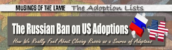 Headline for The Russian Ban on US Adoptions