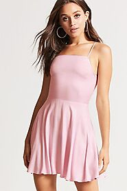 Buy Pink Swing Dress for Women Online by Forever 21