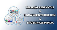 Combine SEO services companies in India with SMO for better page ranking