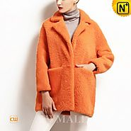 Moscow Womens Reversible Shearling Coat CW650302