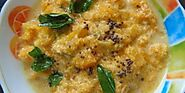 Pumpkin Kootu (Pumpkin cooked in simple coconut gravy) - Dairy-Free! Oil-Free!