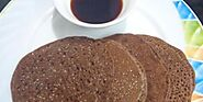 Ragi Pancake with Spiced Syrup- toddler-friendly! Dairy-free!
