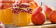 Raw pear jam – great way to have seasonal fruits!