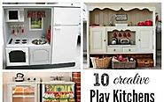 Best Reviews - Wooden Play Kitchen Sets for Kids