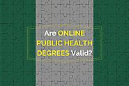 Are Online Public Health Degrees Valid in Nigeria?