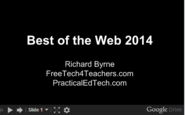 Free Technology for Teachers: Best of the Web 2014