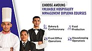 What is the scope of the hotel management course?