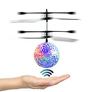 EpochAir Mini Flying RC Ball Helicopter with LED Flashing Light