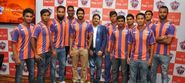 Players of FC Pune city team
