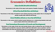 Top 4 Definition of Economics with Criticisms - Geteconhelp