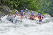 Indulge in White water rafting
