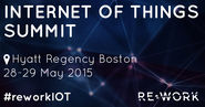RE.WORK Internet of Things Summit, Boston 2015