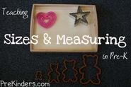 Pre-K Math: Sizes & Measurement - PreKinders