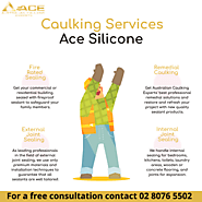 Caulking Services offered by Ace Silicone