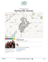 Spring Hill - Residential Neighborhood and Real Estate Report for Spring Hill, Kansas