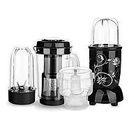Buy Wonderchef Nutri-Blend Complete Kitchen Machine (CKM) with 3 Jars 400W - Black Online at Low Prices in India - Am...