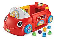 Fisher-Price Laugh & Learn Smart Stages Crawl Around Car (Red)