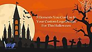 5 Elements You Can Use In Your Custom Logo Design For This Halloween