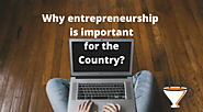 Why entrepreneurship environment is important for the country?