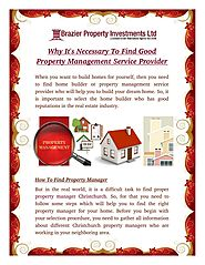 How To Find Property Manager in Christchurch?