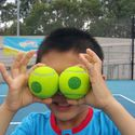 Watching too much tennis gives you tennis ball eyes!