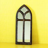 Cast Iron Art Deco Mirror (Small) | Urboii Online Shop