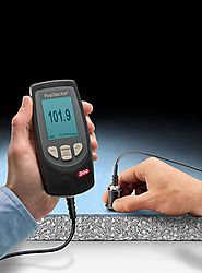 Coating Thickness meter by PCTE.com.au