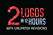 design 2 logo versions in 12 hours with unlimited revisions