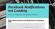 Facebook Notifications not Loading | Smore Newsletters