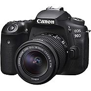 Buy Canon EOS 90D Kit With 18-55mm STM Lens In UK