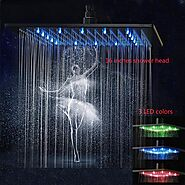 Top 10 Best LED Rain Shower Heads (2020 Reviews) - Brand Review
