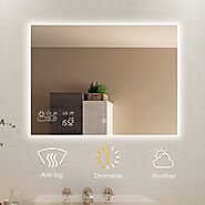 Top 10 Best Led Bathroom Mirrors (2020 Reviews) - Brand Review