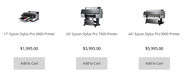 Buy Epson Stylus Pro Printers With Attractive Price