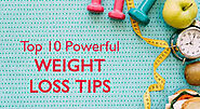 Top 10 power weight loose tips