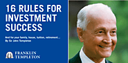 What would Sir John do? Templeton's 16 rules for investment success