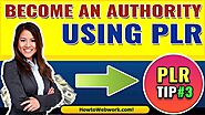 How to Become an Authority in your Niche | Use PLR to Establish Yourself as an Authority