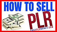 How to sell plr products 📢 [How to Edit and sell PLR ebook] | How to Rebrand and Sell PLR products