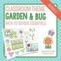 Garden/Bug Themed Classroom Decor & Back-to-School Essentials {Editable} (Only idea))