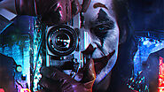 Joker Clicking Pictures 4K Wallpaper Download