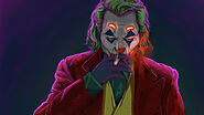 Joker Smoking Man Full HD 1080P, 4K Wallpaper
