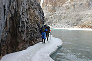 Chadar Trek: Generally crazy Trek in India!