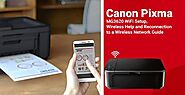 Canon Pixma MG3620 WiFi Setup, Wireless Help and Reconnection to a Wireless Network Guide