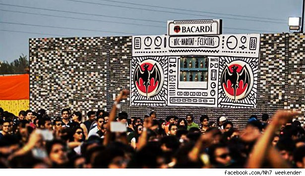 Headline for 2014 Bacardi NH7 Weekender Artist Lineup