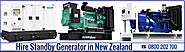 Leasing The Generators To Avert The Power Failure in New Zealand
