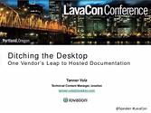 Ditching the Desktop: One Vendor's Leap to Hosted Documentation