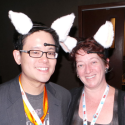6 People at CES 2013 Wearing Robotic Cat Ears | News & Opinion | PCMag.com
