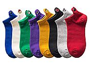 Low Cut Sports Socks for Women, Cute Cozy Knitted Cotton Socks With Funny Face Designed, Athletic Running Socks For A...