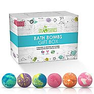 Ultra Lush Large Bath Bombs Gift Set (12 Count x 3.2 oz) Assorted Scents - Bath Bomb Kit, Best for Aromatherapy, Rela...